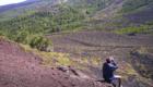 Da Monte Nunziata si ammira il versante Occidentale dell'Etna - © pietronicosia.it