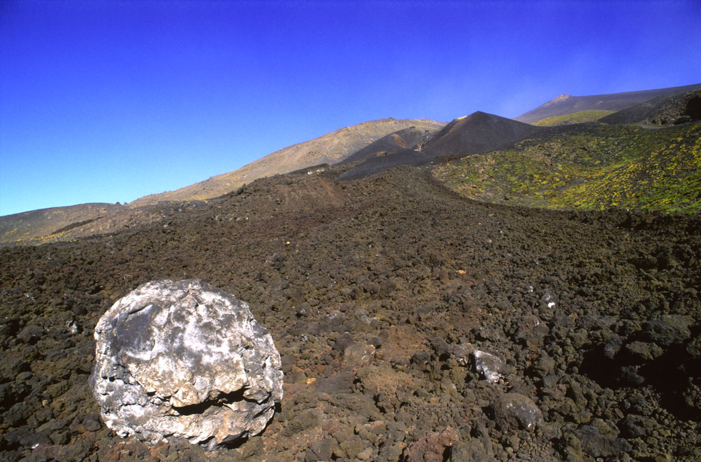 Etna, fronte lavico