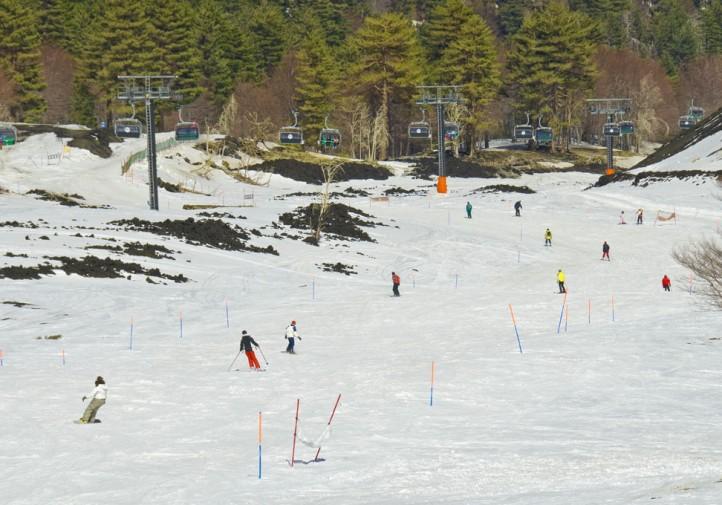 Una delle piste di sci di Piano Provenzana - © pietronicosia.it