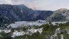Val Calanna nell'eruzione del 1992 che la sommerse per intero - © pietronicosia.it
