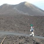 L'area sommitale dell'Etna su Google Street View