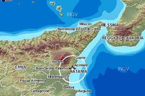 Immagine tratta dal sito dell'INGV di Catania
