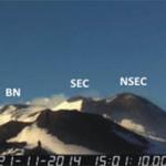 Bollettino INGV sull'Etna del 25 novembre 2014