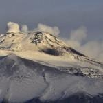 Torna la neve sull'Etna