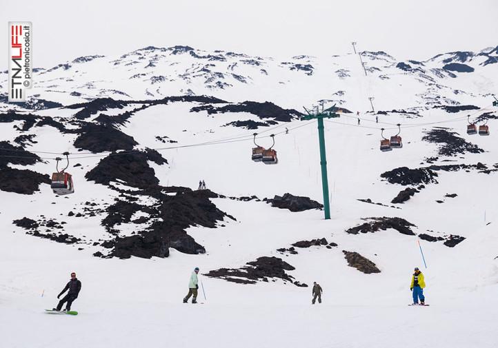 Etna, piste da sci al Rifugio Sapienza - © pietronicosia.it