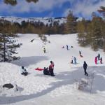 Sole e neve: boom di presenze sull'Etna