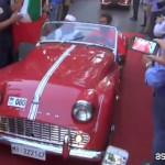 Le auto d'epoca scalano l'Etna e conquistano la Sicilia