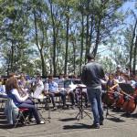 Monte Pomiciaro: concerto d'alta quota degli alunni di Acicatena, Riposto e Zafferana