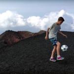 Palleggiando sul bordo dei crateri dell'Etna (ma solo di destro)