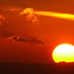 Etna, tramonto di ottobre