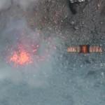 Attività Etna, le esplosioni formano un piccolo cono sul fondo del Cratere Centrale