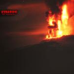 Etna, violento parossismo nella notte