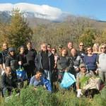 Corso di Etnobotanica Etnea, la raccolta delle verdure nella seconda lezione
