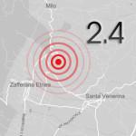 Etna, terremoto fra Santa Venerina e Zafferana
