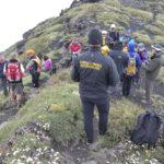Etna, la Guardia di Finanza accompagna gruppo di non vedenti in escursione