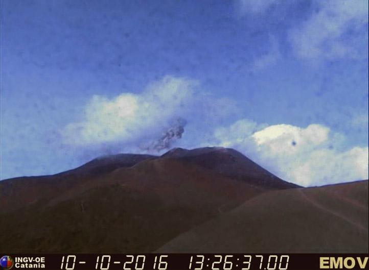 Etna, esplosione alla Bocca Nuova