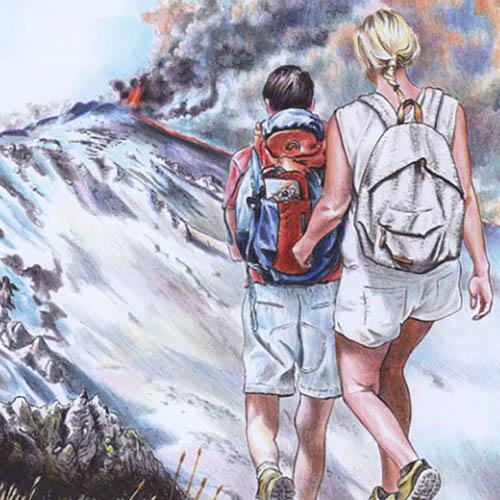 Vulc e Geo, ciceroni per gli etnei del Duemila