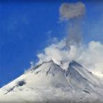 Etna, attività stromboliana dal Sud-Est