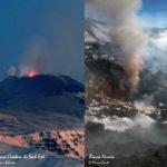 Monitoraggio Etna, bollettino Ingv del 7 febbraio 2017