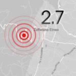 Terremoto: scossa 2.7 sull'Etna