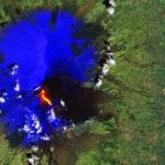 L'eruzione dell'Etna vista dallo spazio