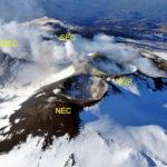 Monitoraggio Etna, bollettino Ingv del 18 aprile 2017