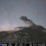 Monitoraggio Etna, bollettino Ingv del 31 Ottobre 2017