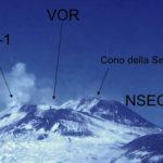 Monitoraggio Etna, bollettino Ingv del 12 Dicembre 2017