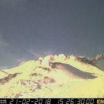 Monitoraggio Etna, bollettino INGV del 27 febbraio 2018